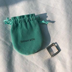 Tiffany and Co silver pendant (no chain)